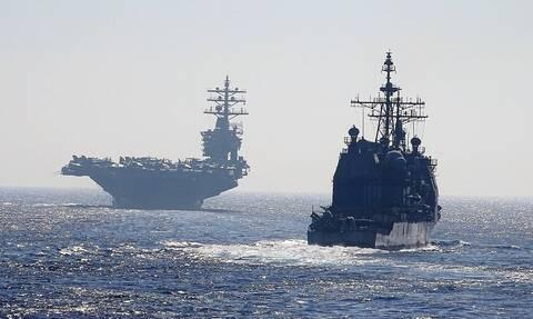 Ελλάδα και ΗΠΑ «απαντούν» στα πυρηνικά Ερντογάν - Πούτιν: Στην Κρήτη το αεροπλανοφόρο Αϊζενχάουερ