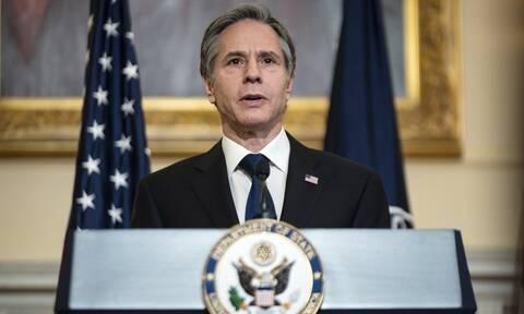 Μπλίνκεν: Οι ΗΠΑ έχουν επικρίνει την Τουρκία για τις προκλητικές ενέργειες εναντίον της Ελλάδας