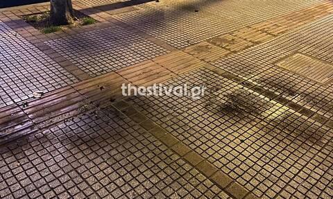 Θεσσαλονίκη: Βόμβες μόλοτοφ στο αστυνομικό τμήμα Λευκού Πύργου – Δύο προσαγωγές