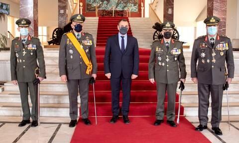 Νίκος Παναγιωτόπουλος: Παρουσία του υπουργού Άμυνας η παράδοση - παραλαβή στην 1η Στρατιά