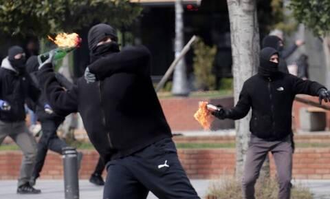 Θεσσαλονίκη: Τα επεισόδια όπως τα κατέγραψε το drone της Αστυνομίας (vid)