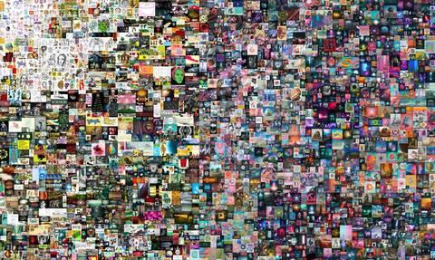 Νέα εποχή στην Τέχνη: Ψηφιακό κολάζ έπιασε...σχεδόν 70 εκατομμύρια δολάρια σε δημοπρασία