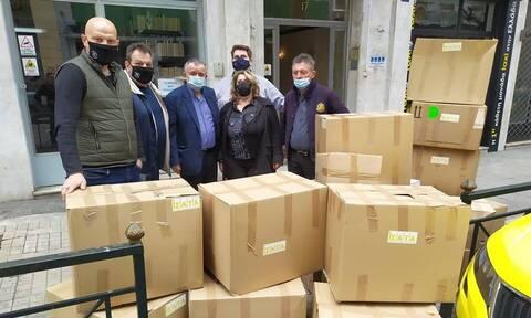 Πανδημία - Κορονοϊός: Το ΣΑΤΑ στηρίζει τους άστεγους της Αθήνας