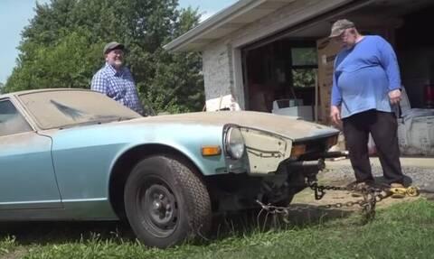 Μεταμόρφωσαν την απόλυτη σακαράκα 40 ετών σε αμαξάρα!