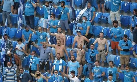Κορονοϊός: Η Ζενίτ θα εμβολιάζει τους οπαδούς της στο γήπεδο - Sputnik V πριν το ματς!