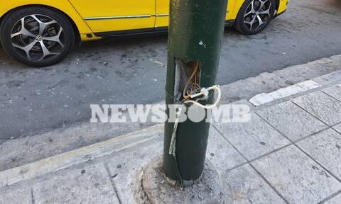 Ρεπορτάζ Newsbomb.gr: Πώς ένας 16χρονος έσωσε 12χρονη όταν ακούμπησε καλώδια φανοστάτη