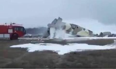 Συντριβή αεροπλάνου στο Καζακστάν - Τέσσερις νεκροί