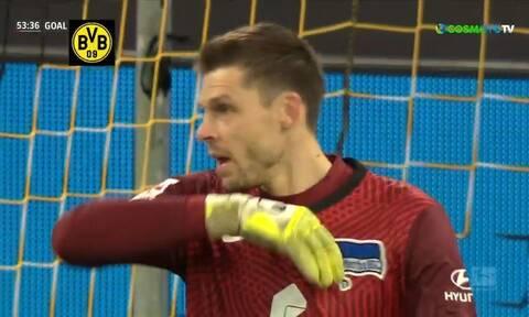 Bundesliga: Πως το «έφαγε» αυτό; - Η επική γκάφα τερματοφύλακα (video)