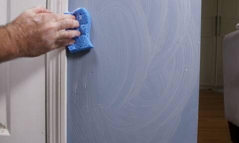 Λερωμένοι τοίχοι: Πώς θα τους καθαρίσεις αποτελεσματικά;