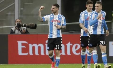 Serie A: Η Νάπολι έκλεισε το σπίτι της Μίλαν!  - Όλα τα γκολ στην Ιταλία (videos)