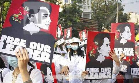Μιανμάρ: «Λουτρό αίματος» - Τουλάχιστον 38 οι νεκροί σήμερα στους δρόμους της Βιρμανίας