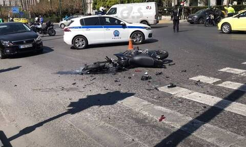 Greek police provide information on serious accident involving security car
