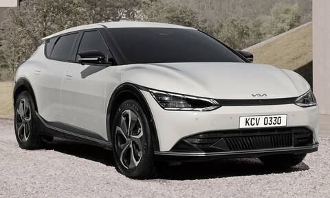 Το νέο ηλεκτρικό Kia ΕV6 αποκαλύφθηκε