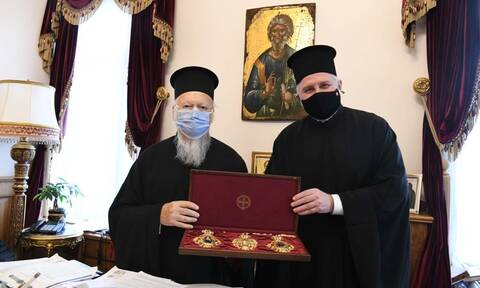 Κωνσταντινούπολη: Συνάντηση του Οικουμενικού Πατριάρχη με τον Αρχιεπίσκοπο Αμερικής