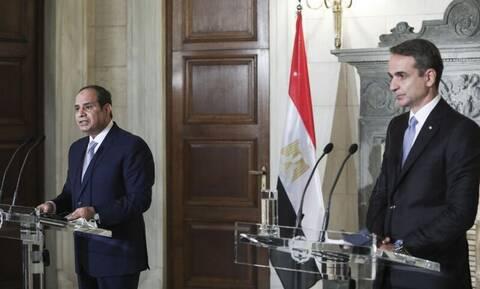 Ισχυρός ο άξονας Ελλάδας - Αιγύπτου: Ενίσχυση οικονομικής και στρατιωτικής συνεργασίας θέλει ο Σίσι