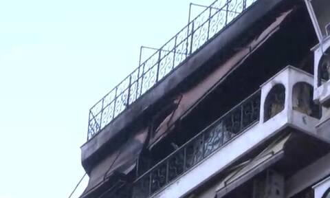 Φωτιά: Στις φλόγες διαμέρισμα στο κέντρο της Θεσσαλονίκης