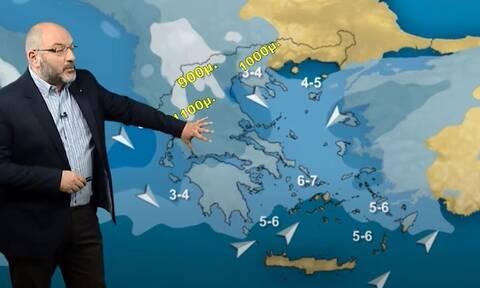Καιρός: Η Ελλάδα στα δύο το Σαββατοκύριακο. Βροχές χαράς για αγρότες και... αναδίπλωση Σαχάρας