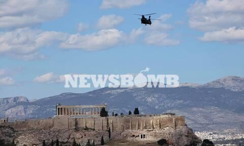 Μαχητικά αεροσκάφη: Γιατί πέταξαν πάνω από την Αθήνα;