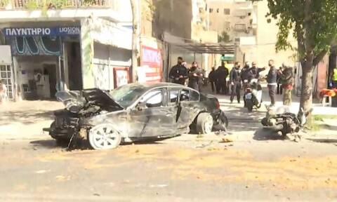 Λιοσίων: Όχημα ξέφυγε από την πορεία του μετά από καταδίωξη - Τραυματίστηκαν δύο γυναίκες