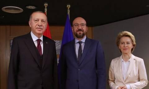 Tηλεδιάσκεψη Φον ντερ Λάιεν, Μισέλ με Ερντογάν για την κατάσταση στην Ανατολική Μεσόγειο