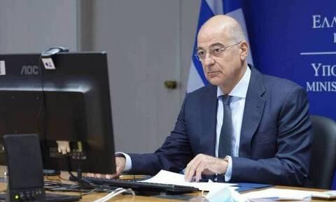 Νίκος Δένδιας: Η Ελλάδα υποστηρίζει τη διττή προσέγγιση της ΕΕ έναντι της Τουρκίας