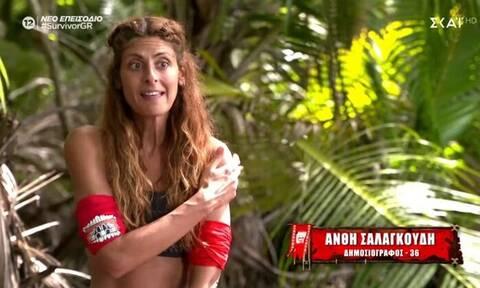 Survivor – Αποκάλυψη: «Φίλησα την Ανθή στο στόμα – Δεν το έδειξαν οι κάμερες» (video)