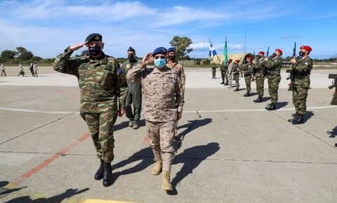 Στα... κάγκελα ο Ερντογάν: Σαουδάραβες και Γάλλοι αρχηγοί στρατιωτικών επιτελείων στην Ελλάδα