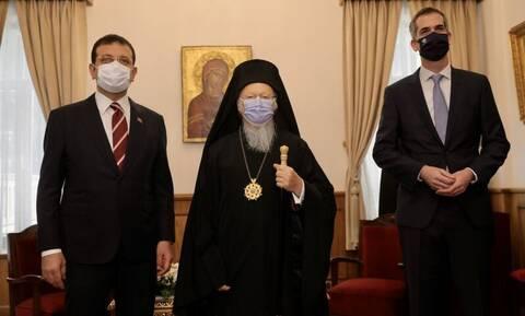 Στο Οικουμενικό Πατριαρχείο Μπακογιάννης και Ιμάμογλου