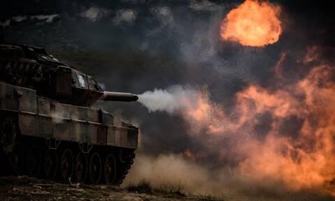Στρατός Ξηράς: Ύψιστη επιχειρησιακή ετοιμότητα - Άνοιξε πυρ με τους Αμερικανούς στη Θράκη