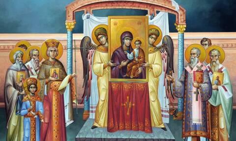 Κυριακή της Ορθοδοξίας (21/03): Τι γιορτάζουμε - Πώς θα λειτουργήσουν οι εκκλησίες