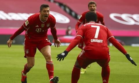 Bundesliga: Ολοταχώς για θρυλικό ρεκόρ ο Λεβαντόφσκι - Όλα τα γκολ στη Γερμανία (videos)