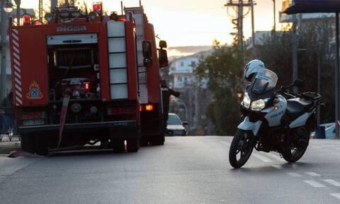 Τραγωδία στα Βριλήσσια: Ένας νεκρός από φωτιά σε αποθήκη