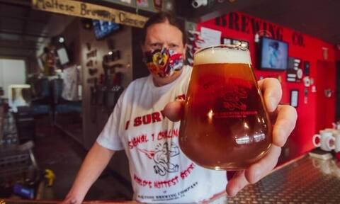 Αυτή είναι η πιο καυτερή μπύρα που υπάρχει - Τι διαφορετικό περιέχει;