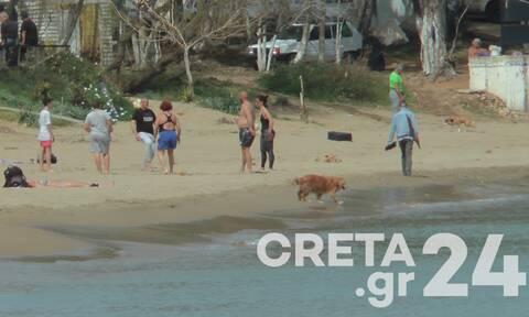 Καιρός: Παραμένει η... Άνοιξη στην Κρήτη - «Ξεχύθηκαν» σε παραλίες και πάρκα οι Κρητικοί (pics)