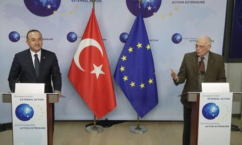 Η έκθεση Μπορέλ για την τουρκική προκλητικότητα - Σήμερα το τετ α τετ με Τσαβούσογλου στις Βρυξέλλες