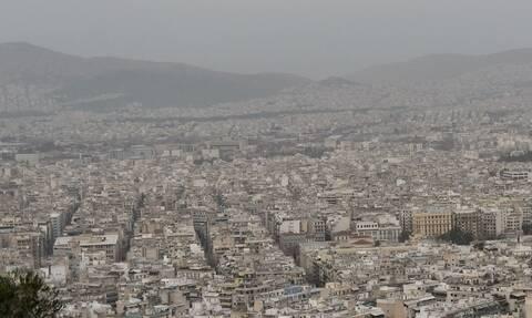 Καιρός: Σύννεφο σκόνης «κατάπιε» την Ελλάδα – Το κατέγραψε δορυφόρος