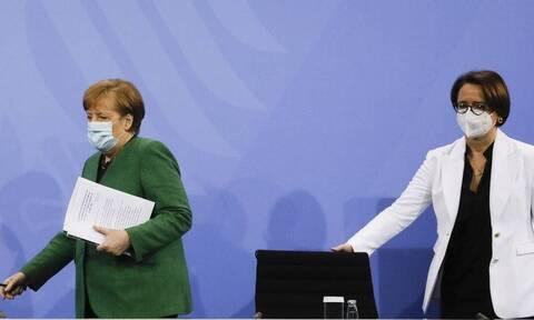 «Χάος» στη Γερμανία - lockdown: Διακόπηκε η τηλεδιάσκεψη Μέρκελ με τους Πρωθυπουργούς των κρατιδίων