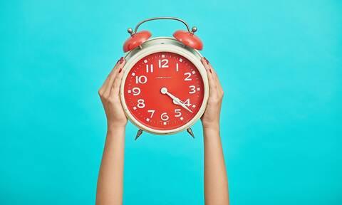 Αλλαγή ώρας 2021 - Πότε θα πάμε τα ρολόγια μια ώρα μπροστά