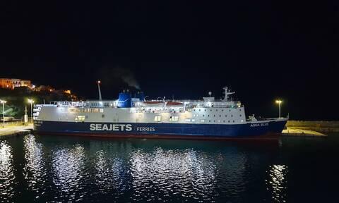 Λαχτάρησαν οι επιβάτες του Aqua Blue  - Γενικό blackout στο πλοίο