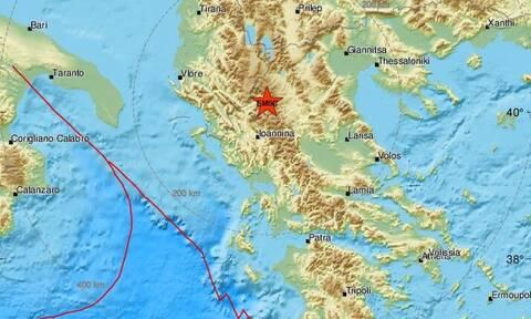Σεισμός στα Ιωάννινα - Κοντά στην Κόνιτσα το επίκεντρο (pics)