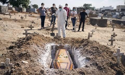 Κορονοϊός στη Βραζιλία: Ξεπέρασαν τα 12 εκατομμύρια τα κρούσματα - Πάνω από 295.000 οι νεκροί