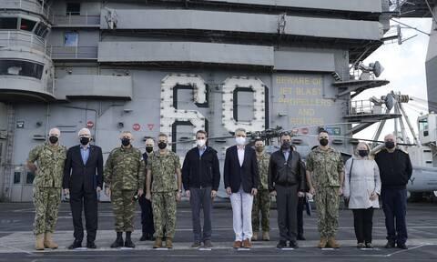 Μητσοτάκης: Σε εξαιρετικά επίπεδα η στρατιωτική συνεργασία με τις ΗΠΑ – Το «ευχαριστώ» στον Μπάιντεν