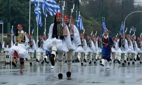 Παρέλαση 25ης Μαρτίου: Το πρόγραμμα και οι υψηλοί προσκεκλημένοι
