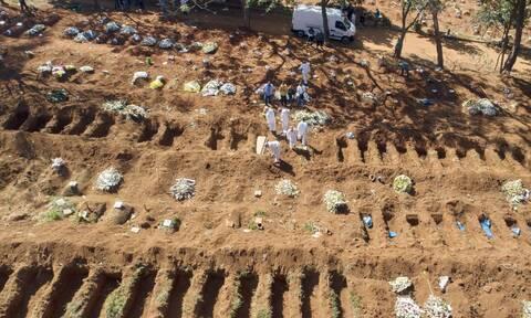 Εκτός ελέγχου ο κορονοϊός στη Βραζιλία: Νέο τραγικό ρεκόρ με 3.251 θανάτους σε 24 ώρες