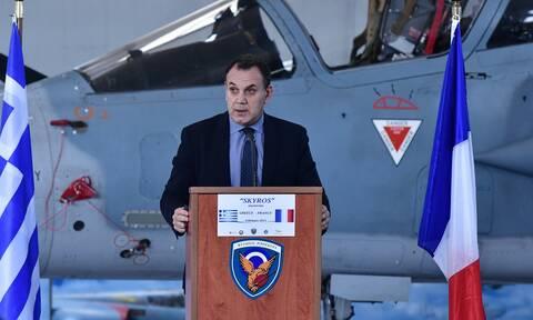 Παναγιωτόπουλος για 25η Μαρτίου: Αντιμετωπίζουμε αποτελεσματικά όποιον απειλεί την κυριαρχία μας