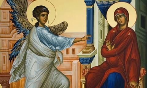 Ευαγγελισμός της Θεοτόκου: Η μεγάλη γιορτή της Ορθοδοξίας που συμπίπτει με την Εθνική Επέτειο