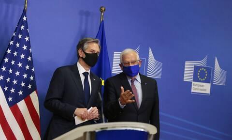 ΕΕ- ΗΠΑ: Στρατηγικό συμφέρον ένα σταθερό και ασφαλές περιβάλλον στην Ανατολική Μεσόγειο