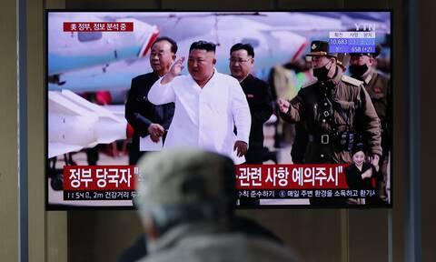 H Βόρεια Κορέα εκτόξευσε νέο πύραυλο «αγνώστου τύπου»