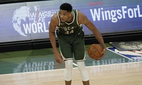 NBA: Νίκη-θρίλερ για τους Μιλγουόκι Μπακς επί των Σέλτικς-Σε «χαμηλή πτήση» ο Γιάννης Αντετοκούνμπο