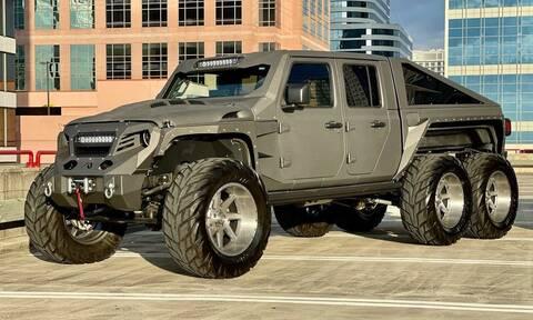 Ακόμα και ένα Jeep αξίζει να έχει έξι τροχούς!
